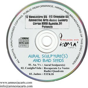 Aural Sculture(s) and Bad Seeds
