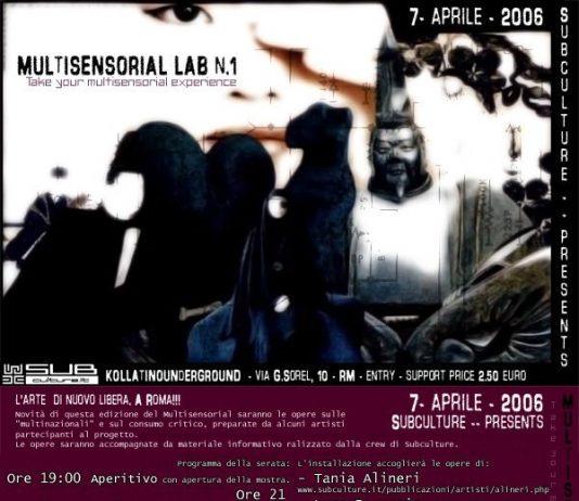 Multisensorial Lab #1