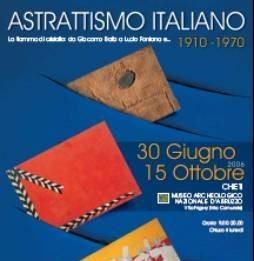 Astrattismo italiano 1910-1970