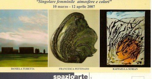 Singolare femminile  atmosfere e colori