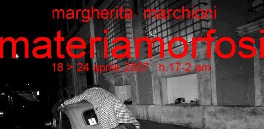 Margherita Marchioni – Materiamorfosi