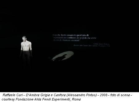 Raffaele Curi – D'Ambra Grigia e Canfora