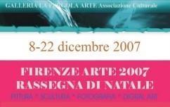 Firenze arte 2007 – Rassegna di Natale