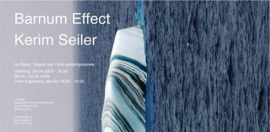 Kerim Seiler – Barnum Effect. Il mare mi ha rifiutato