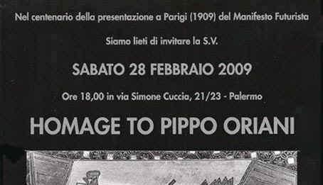 Pippo Oriani – Homage to Pippo Oriani – Futurist Works