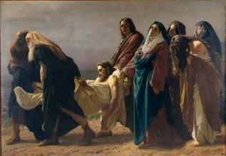 Antonio Ciseri – Il trasporto di Cristo al sepolcro, 1864-1870