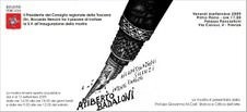 Ariberto Badaloni – Ricapitolazioni. Silenzi. Intenti. Enigmi