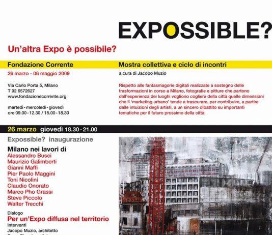 Expossible? Un'altra Expo è possibile?