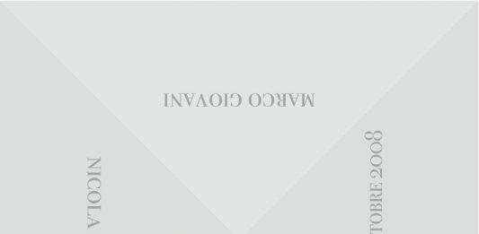 Nicola Console / Marco Giovani / Nicola Villa