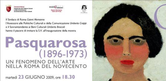 Pasquarosa (1896-1973) – Un fenomeno dell'arte nella Roma del Novecento