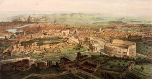 Roma, la magnifica visione. Vedute panoramiche del XVIII e XIX secolo