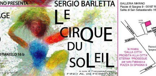 Sergio Barletta – Le cirque du soleil