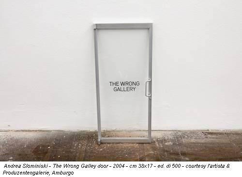 Gallery. Galerie. Galleria