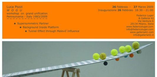 Luca Pozzi – Wogu. Workshop on grand unification