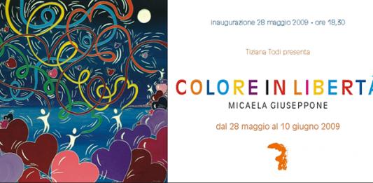 Micaela Giuseppone – Colore in libertà