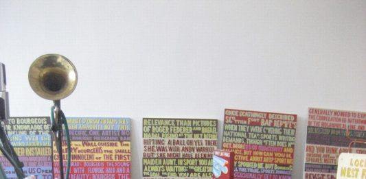 Bob and Roberta Smith – I was up all night making this