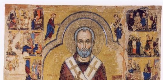 Cipro e l'Italia al tempo di Bisanzio. L'Icona Grande di San Nicola tis Stégis del XIII secolo restaurata a Roma