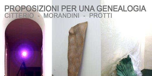 Citterio | Morandini | Protti – Proposizioni per una genealogia