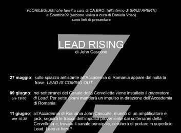 John Cascone – Lead Rising