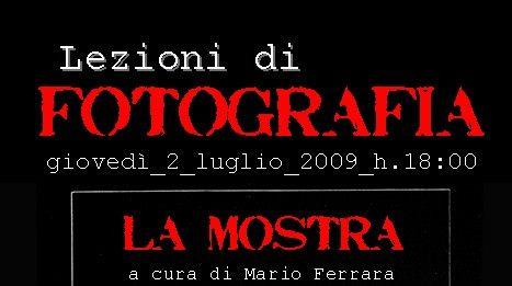 Lezioni di Fotografia – La Mostra