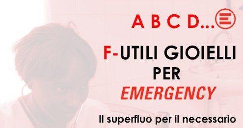 F-Utili gioielli per Emergency