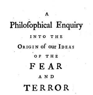 A Philosophical Enquiry into the origin of Ideas of the Fear and Terror