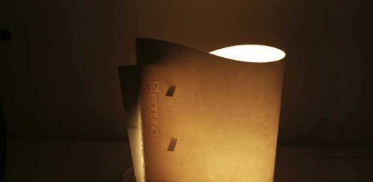 Giuseppe Augugliaro – MIA paper lamp