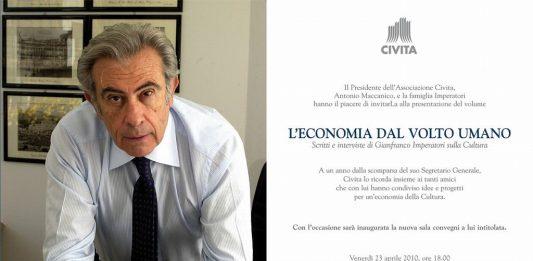 Gianfranco  Imperatori – L'economia dal volto umano