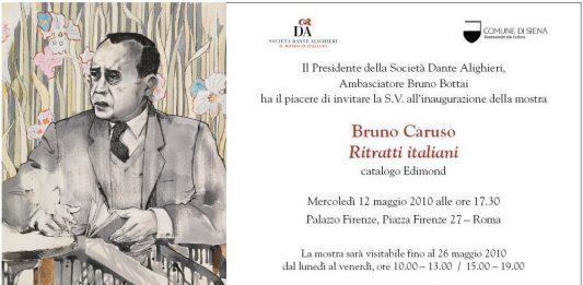 Bruno Caruso – Ritratti italiani