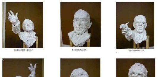 Giuseppe Manigrasso – Le Sculture dei Padri della Prima Repubblica