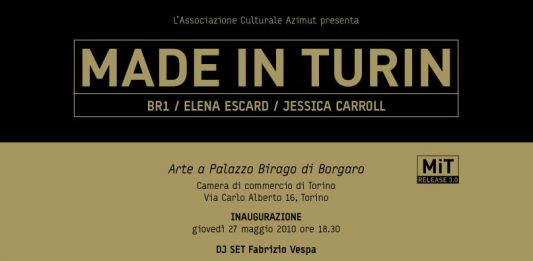 Made in Turin. release 3.0 – Br1 | Carroll | Escard