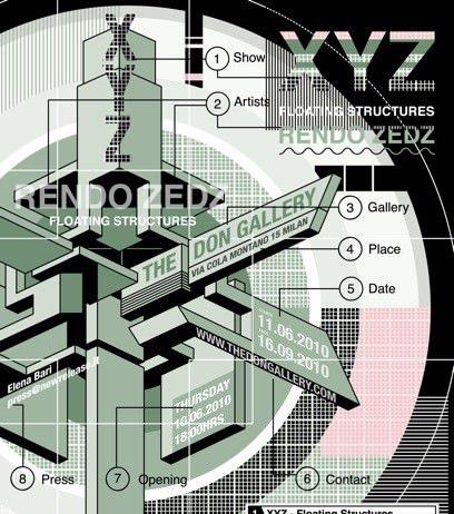 Rendo / Zedz – XYZ floating structures