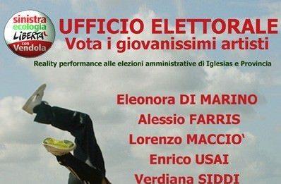 Ufficio elettorale. Reality performance