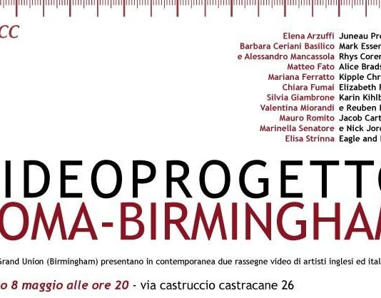 Videoprogetto Roma-Birmingham
