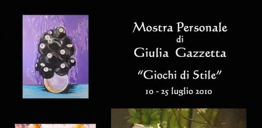 Giulia Gazzetta – Giochi di stile