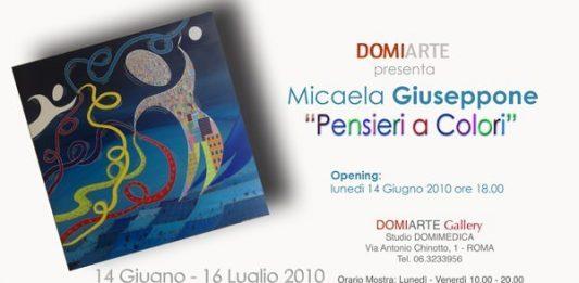 Micaela Giuseppone – Pensieri a Colori