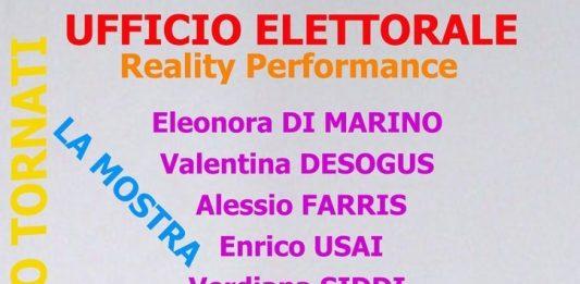 Reality performance. Ufficio elettorale parte III: la mostra!