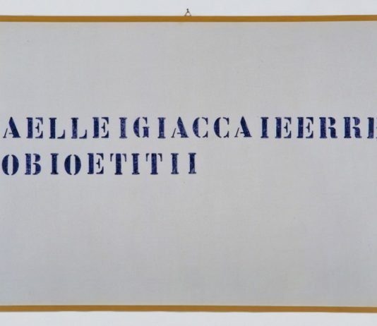 Alighiero Boetti – Da singolare a plurale e viceversa