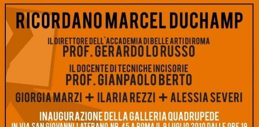 Ognuno si faccia i propri Duchamp