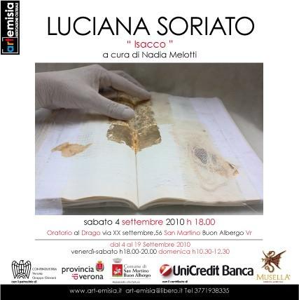 Luciana Soriato – Isacco