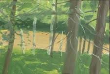 Alex Katz – Small paintings