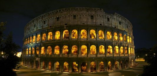 Pio Diaz&Thyra Hilden  – Coliseum on Fire