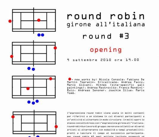 Round Robin #3 – Girone all'Italiana