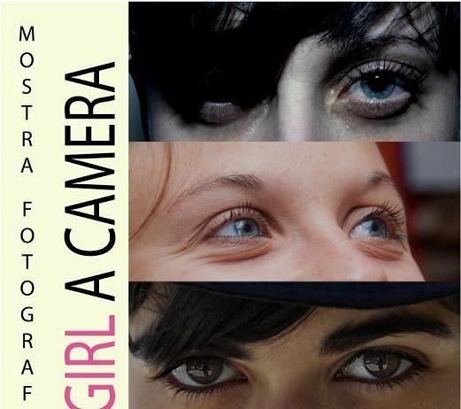A girl. A camera