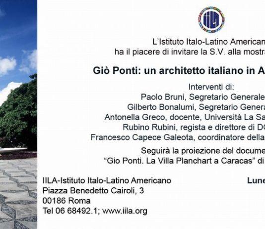Giò Ponti – Un architetto italiano in America Latina