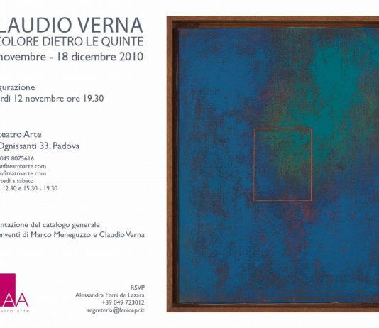 Claudio Verna – Il colore dietro le quinte
