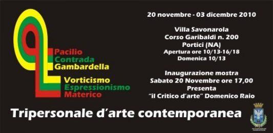 Contrada | Gambardella | Pacilio – Vorticismo Espressionismo materico