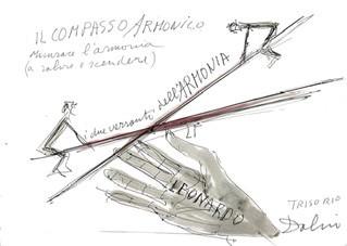 Riccardo Dalisi – Leonardo e il Compasso armonico