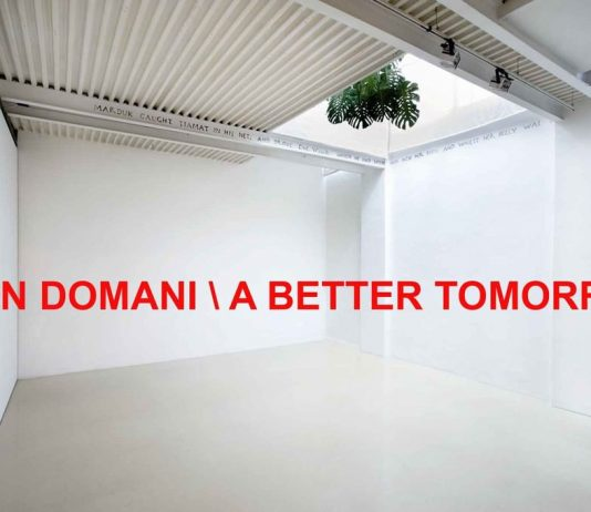 Buon domani A better tomorrow