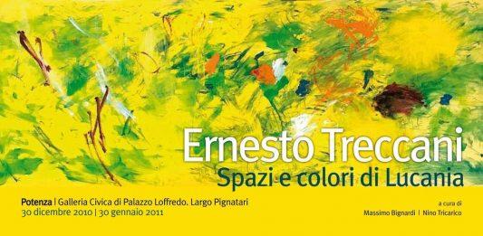 Ernesto Treccani – Spazi e colori di Lucania